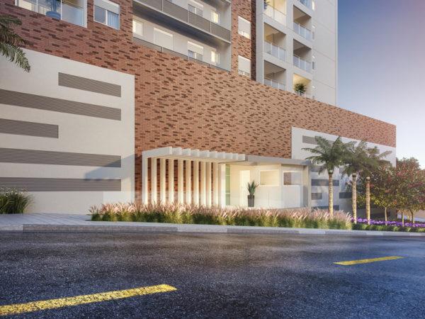 Horizon residencial - Martin Luther King - fachada