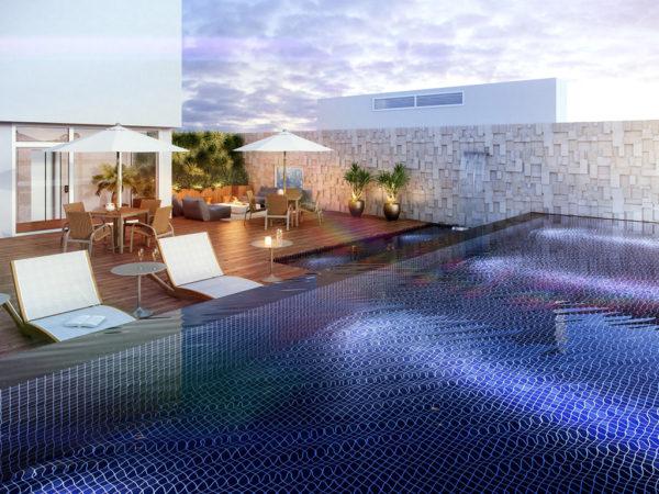Horizon residencial - Martin Luther King - solarium