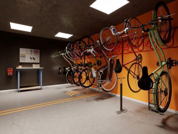 Projeto ERASMO BRAGA: Bicicletário