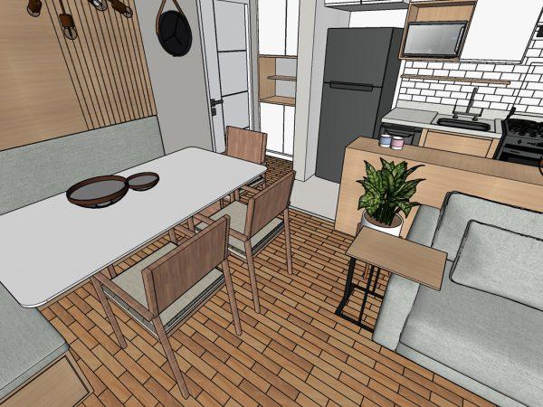 Etapa: Projeto 3D ( Projeto de Decoração AGap)