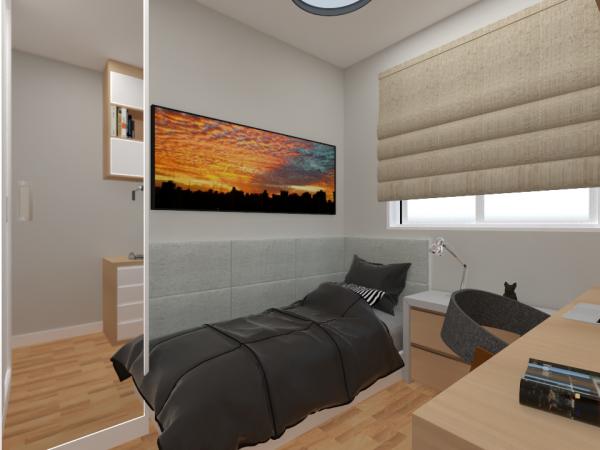 Etapa: Projeto 3D - renderização final ( Projeto de Decoração AGap)