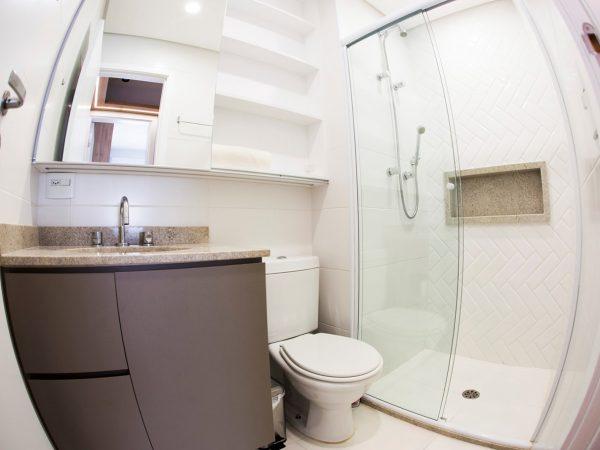 Foto da reforma concluída - Banheiro