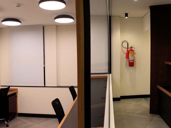Reforma escritório Avenida Ipiranga - Sala Telecon e Impressoras