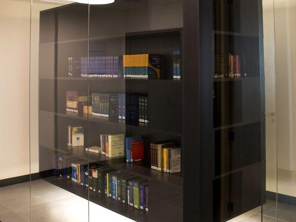 Reforma escritório Avenida Ipiranga - Biblioteca