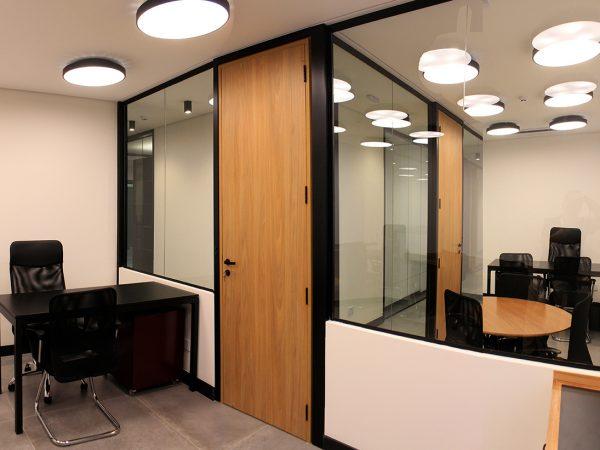 Reforma escritório Avenida Ipiranga - Sala Sócio e Sala Civil