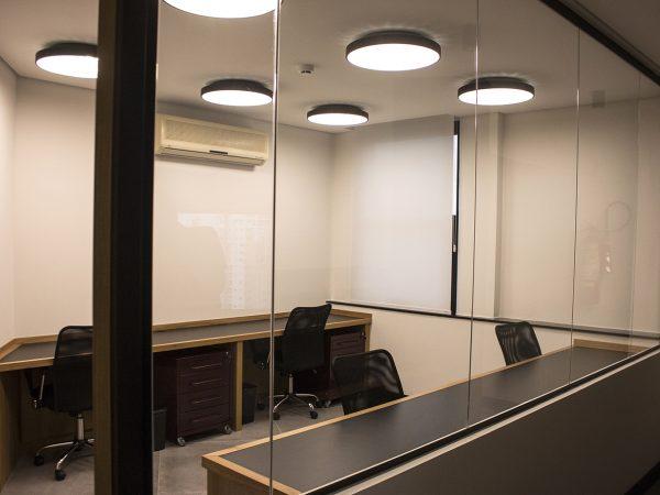Reforma escritório Avenida Ipiranga - Sala Telecon
