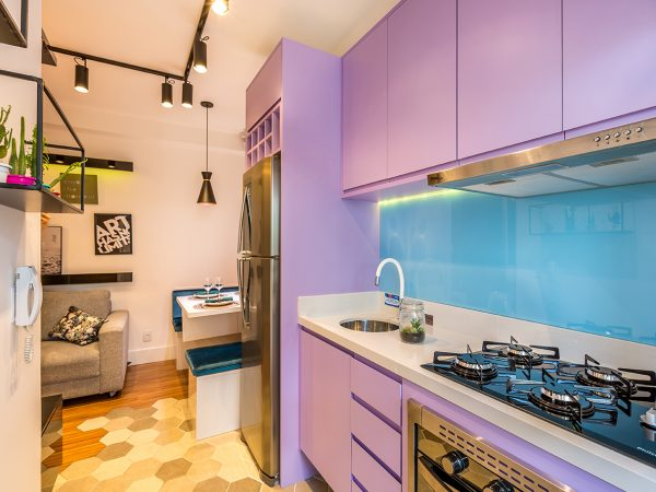 Cozinha Projeto Decorado Margaridas I
