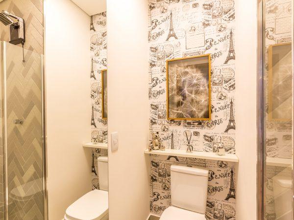 Banheiro Projeto Decorado Margaridas I