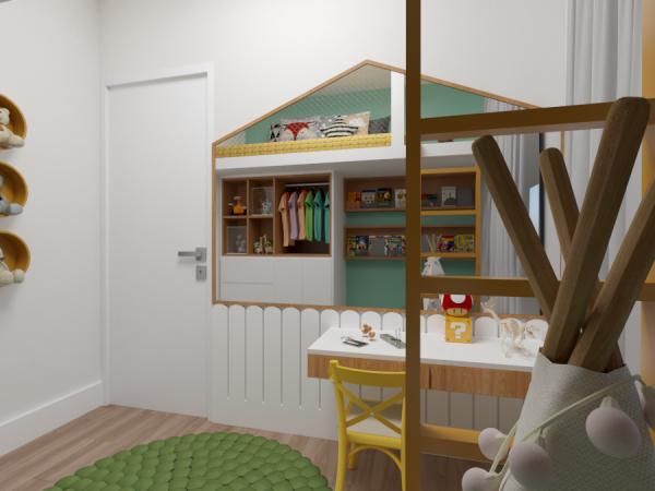 Dormitório - Projeto Ana Ventura Tipo 2