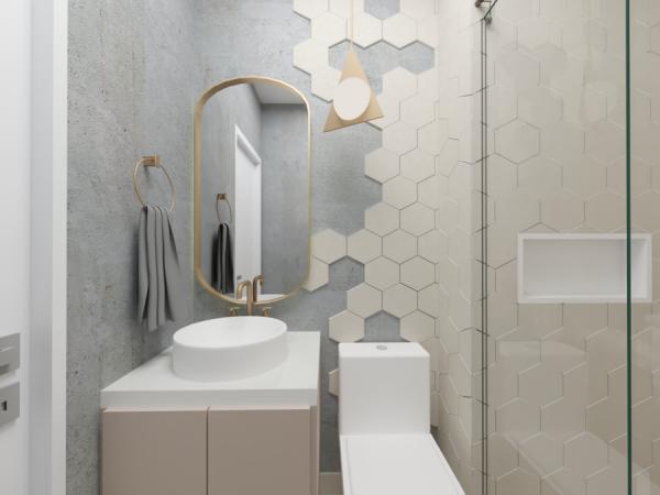 Banheiro - Projeto Ana Ventura Tipo 2