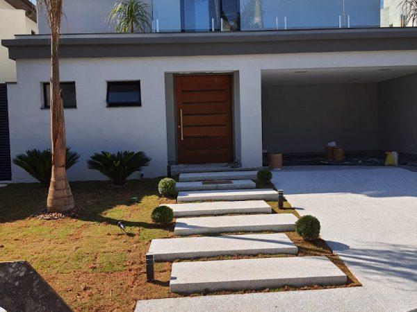 Fachada - Projeto Reforma Casa Alphaville