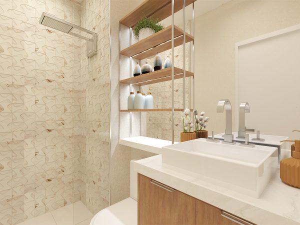 Banheiro - Projeto Patrício de Camargo