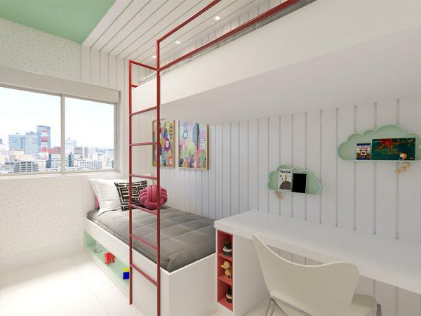 Quarto Infantil - Projeto Patrício de Camargo